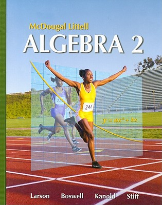 Algebra 2, Grades 9-12 By Holt Mcdougal (COR)